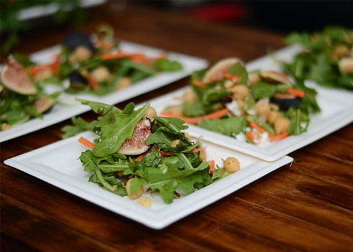 image of salad dishes